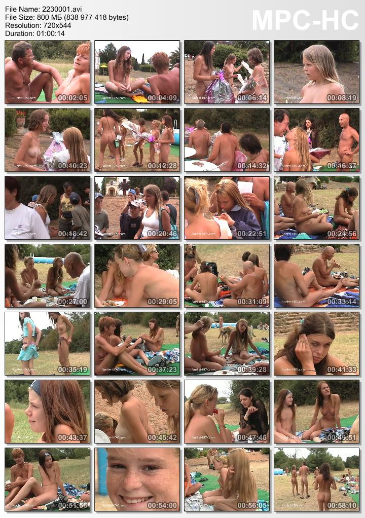 Naturism Competition of Beauty - Miss nudist junior