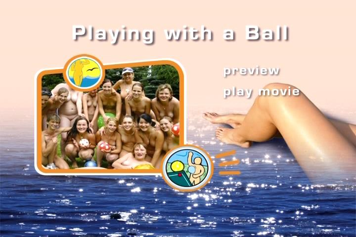 Naturist Family Freedom - Playing With a Ball [Family Video]