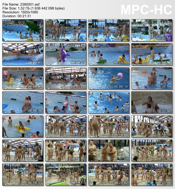Video from the family nudists archive - Aqua Extravaganza