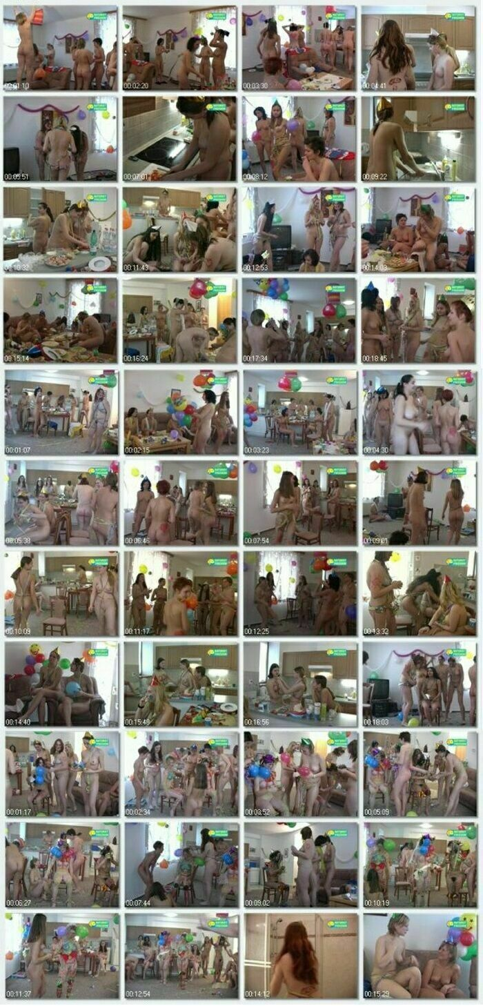 Young nude girls video - Girls Birthday Party [Naturist Freedom]
