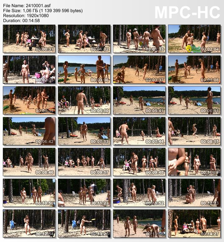 Family nudists outdoor [Lakeside Forest Camp 1]