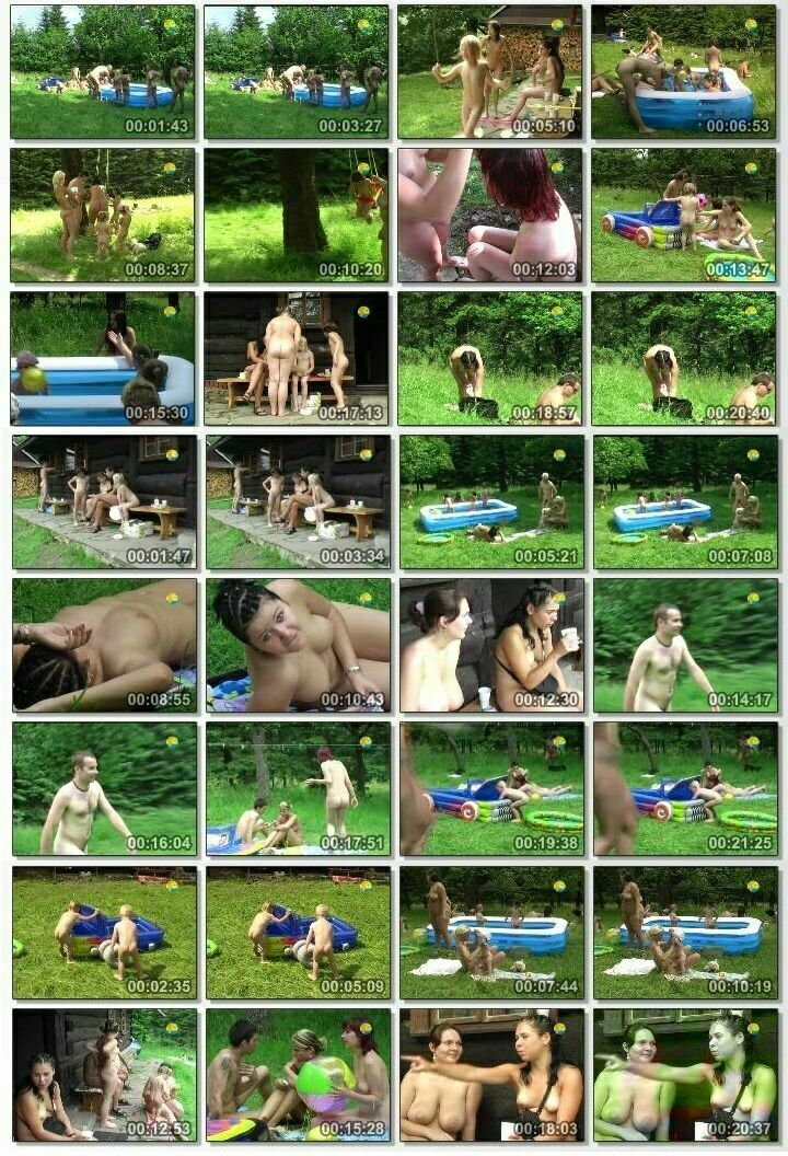 Video from the family archive of naturist [Cottage Colony]
