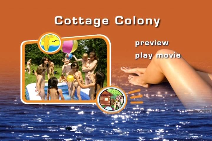 Video from the family archive of naturists [Cottage Colony]