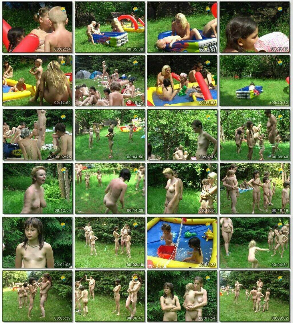Not only Skipping Ropes - Naturist family video