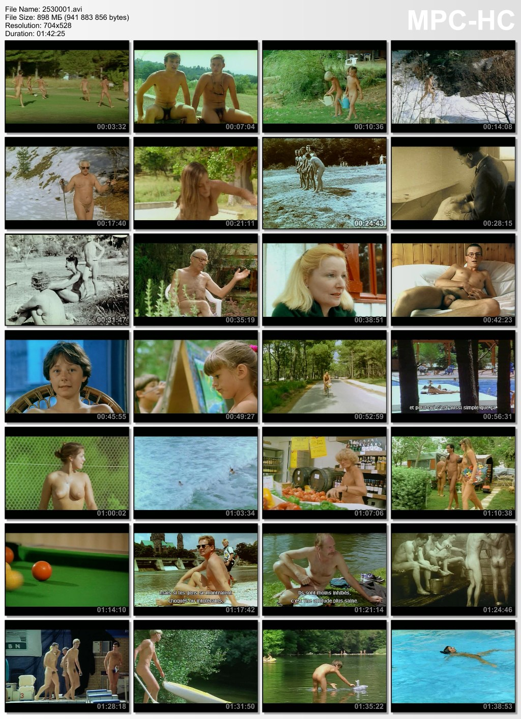 family nudism video